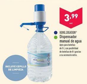 Oferta de Dispensador de agua Home creation por 3.99€
