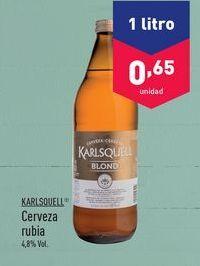 Oferta de Cerveza Karlsquell por 0.65€
