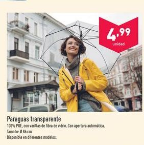 Oferta de Paraguas aldi por 4.99€