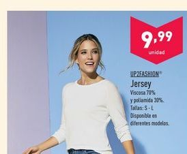 Oferta de Jersey up fashion por 9.99€