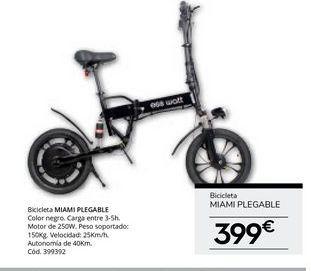 Oferta de Bicicletas por 399€