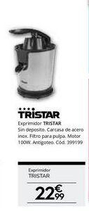 Oferta de Exprimidor eléctrico Tristar por 22.99€
