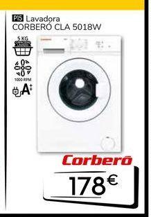 Oferta de Lavadora carga frontal Corberó por 178€