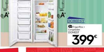 Oferta de Frigor铆ficos Domest por 399鈧�