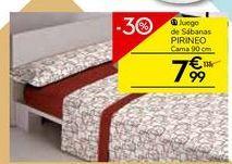 Oferta de Sábanas por 7.99€
