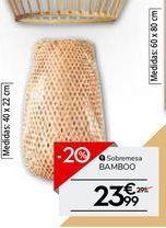 Oferta de Lámpara de mesa por 23.99€