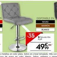 Oferta de Taburete alto por 49.99€
