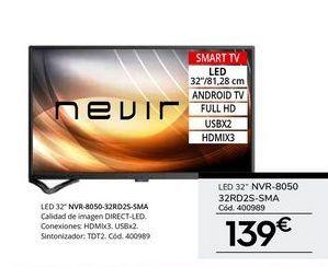 Oferta de Tv led Nevir por 139€