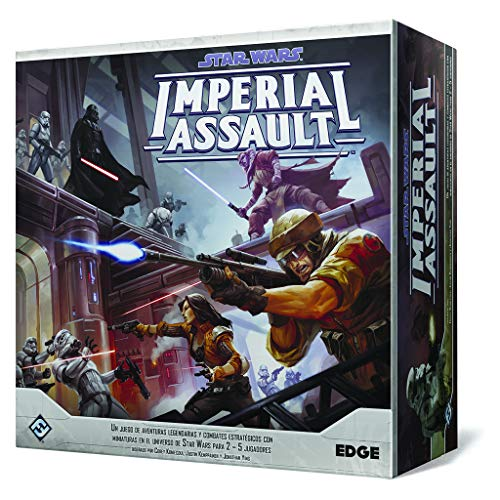 Oferta de Fantasy Flight Games- Star Wars Imperial Assault (Edge Entertainment EDGSWI01) por 92.95€