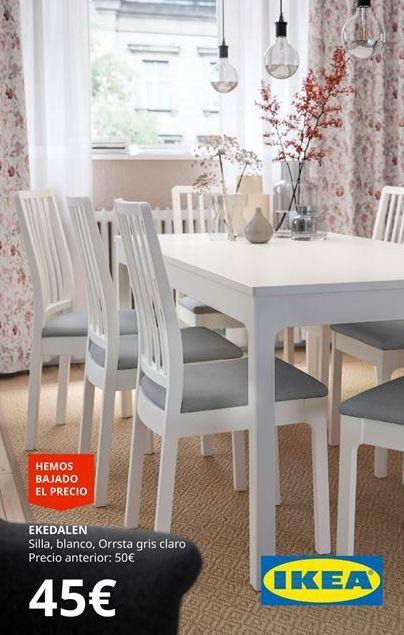Oferta de Sillas Ikea por 45€
