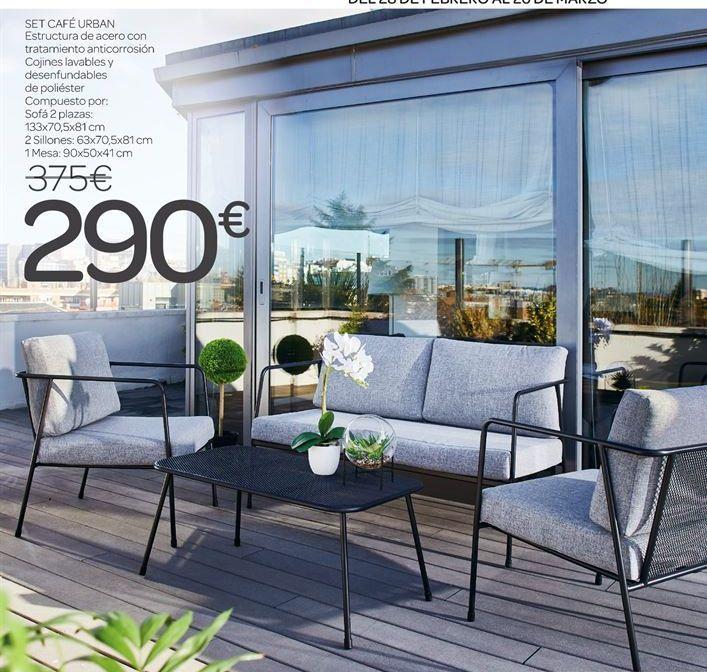 Oferta de Set café urban  por 290€