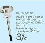 Oferta de Baliza solar por 3.9€