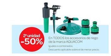 Oferta de En todos los accesorios de riego Aquacom por