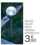 Oferta de Baliza solar bola por 3.9€