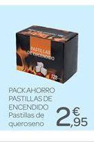 Oferta de Pastillas de encendido por 2.95€