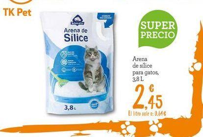 Oferta de Arena para gatos por 2.45€
