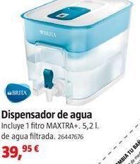 Oferta de Dispensador de agua Brita por 39.95€
