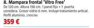 Oferta de Mampara de baño por 359€