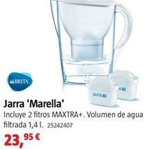 Oferta de Jarra con filtro Brita por 23.95€