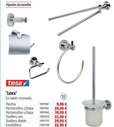 Oferta de Accesorios para baño tesa por 9.95€