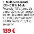 Oferta de Multiherramienta por 139€