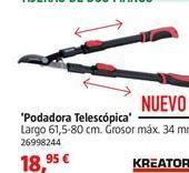 Oferta de Tijeras de poda por 18,95€