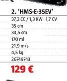 Oferta de Motosierra a gasolina por 129€
