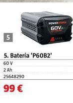 Oferta de Cargador de batería por 99€