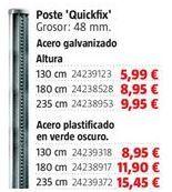 Oferta de Postes por 5,99€