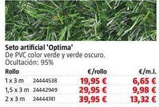Oferta de Seto artificial por 19,95€
