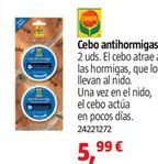 Oferta de Antihormigas por 5,99€