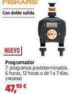 Oferta de Programador diario por 47,95€