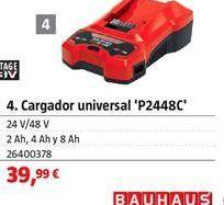 Oferta de Cargador universal por 39,99€