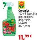 Oferta de Geranios por 11,99€