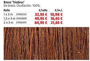 Oferta de Brezo por 32,95€