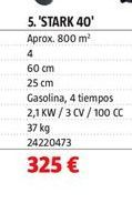 Oferta de Motoazada por 325€