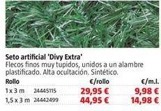 Oferta de Seto artificial por 29,95€