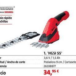 Oferta de Podadora por 34,95€