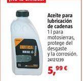 Oferta de Aceites y líquidos por 5,99€