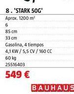 Oferta de Motoazada por 549€