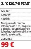 Oferta de Hidrolimpiadora por 99€