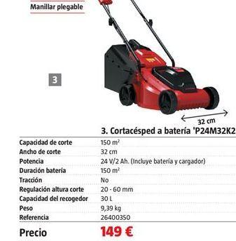 Oferta de Cortacésped por 149€