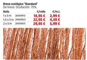 Oferta de Brezo ecológico por 14,95€