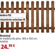 Oferta de Vallas y cercados por 24,25€