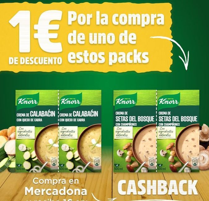 Oferta de Crema de verduras por 1.4€