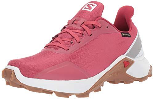 Oferta de Salomon ALPHACROSS GTX W, Zapatillas de Trail Running para Mujer, Rojo (Garnet Rose/White/Gum1a), 44 EU por 40.2€