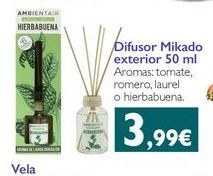 Oferta de Difusor de aromas por 3.99€