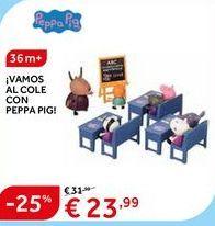 Oferta de Vamos al cole con Peppa Pig por 23.99€