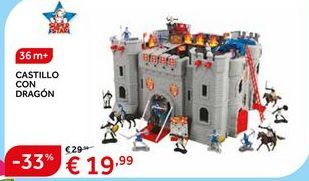 Oferta de Castillo de juguete por 19.99€