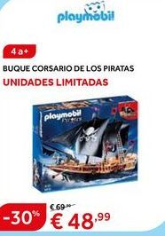 Oferta de Barco de juguete Playmobil por 48.99€